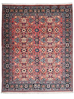 Darya Rugs Persian One-of-a-Kind Rug, Pink/Blue, 6' 3