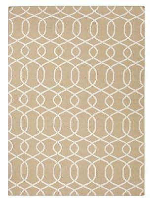 Jaipur Rugs Flat Weave Geometric Rug (Brown)
