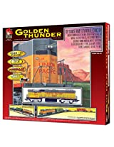 Life-Like Trains  HO Scale Golden Thunder Electric Train Set