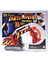 Wild Republic Earth Movers T-Rex Red Novelty