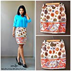 Madhurima Bhattacharjee Things are Fishy Pencil Skirt-US size 8