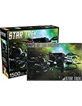 Aquarius Star Trek Enemy Ships Puzzle (1500 Piece)