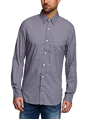 French Camisa Choctaw (Azul)