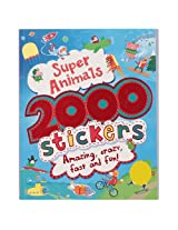 Parragon 2000 Stickers Super Animals