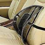 Car Seat Chair Massage Back Lumbar Support Mesh Ventilate Cushion Pad RTH-320544