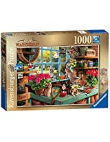 """Ravensburger Is He Watching"""" Jigsaw Puzzle (1000 Piece)"""