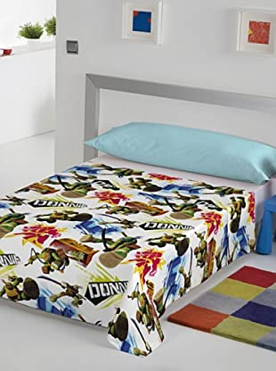 Euromoda Juego De Sábanas Tmnt Turtles (Multicolor)
