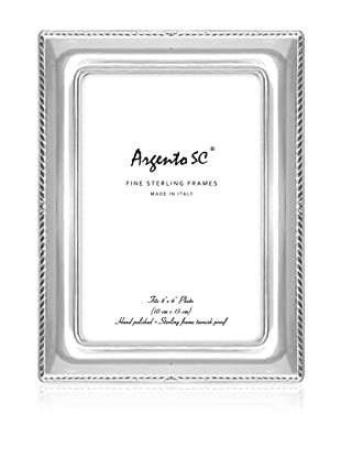 Argento SC Thin Border Sterling Silver Frame, 4