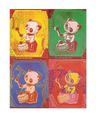 Andy Warhol: Four Pandas
