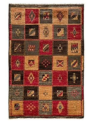 Darya Rugs One-of-a-Kind Tribal Rug, Multi, 5' 2