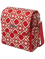Petunia Pickle Bottom Boxy Backpack in Persimmon Spice, Orange
