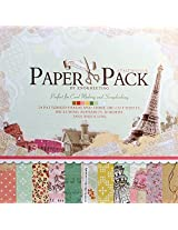 12 x12 Inch Decorative Card Making Scrapbooking Paper Pack (24 Patterned Sheets + 3 Die Cut Sheets) - Reminiscence Design