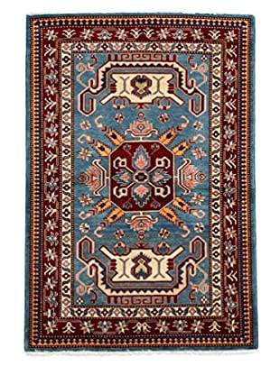 Kazak Collection Oriental Rug, Blue, 3' 4