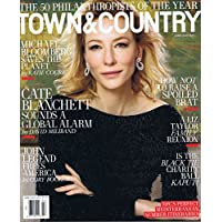 TOWN & COUNTRY June - July 2017 小さい表紙画像