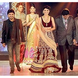 Bollywood Replica Shilpa Shetty Designer Bridal Lehenga by Thread Fantasy
