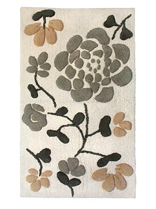 Park B. Smith Asian Garden Bath Rug, Natural/Linen, 24