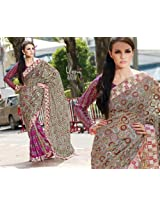 Triveni Inspiration Embroidery Saree-3010