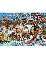 Buffalo Games Charles Wysocki: Small Town Christmas - 1000 Piece Jigsaw Puzzle by Buffalo Games