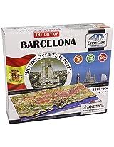 4D Cityscape Spain Barcelona, Time Puzzle