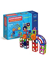 Magformers Magnets in Motion Power Set, Multi Color (83 Pieces)