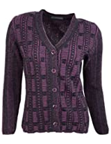 Casanova Women's Long Sleeve Cardigans (5908, S)