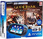 Sony New PS Vita Slim Wifi Console - 2014 Edition (Black)(Free game: God Of War Collection)