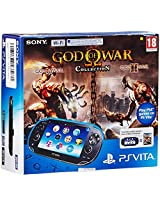 Sony New PS Vita Slim Wifi Console (Black) (Free Game: God of War Collection)