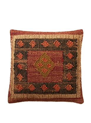 Boheme Collection Woven Throw Pillow, Multi