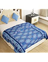 Home Candy Blanket - Blue