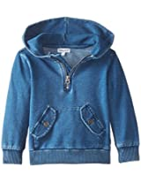 Splendid Little Boys' Indigo Knit Pullover Hoodie