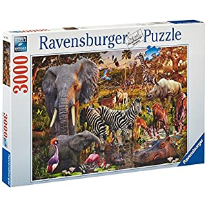 Ravensburger African Animals Jigsaw Puzzle (3000 Pieces)