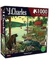 Karmin International J. Charles Cabin Fever Puzzle (1000-Piece)