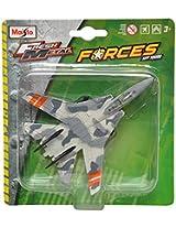 Maisto F-14 Tomcat Aeroplane Die Cast Toy Model (White & Grey)