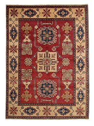 Darya Rugs Kazak Oriental Rug, Red, 5' 6