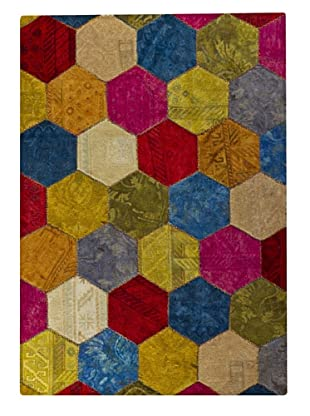 MAT Vintage Honey Comb Rug (Multi)