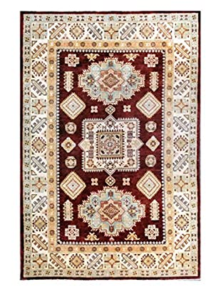 Bashian Rugs One-of-a-Kind Hand Knotted Paki Kazak Rug, Onion, 5' 5