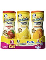 Gerber Graduates Sweet Potato Puffs-3 Pack