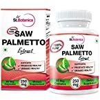 StBotanica Saw Palmetto - 250mg Extract - 60 Veg Caps