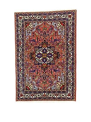 L'Eden del Tappeto Teppich Ardebil Tocco Seta mehrfarbig 199t x t134 cm