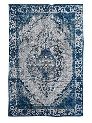 Kalaty One-of-a-Kind Pak Vintage Rug, Gray/Blue, 6' 2