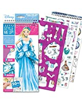 Style Me Up The Cinderella Collection Small Sketchbook, Multi Color