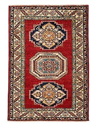 Darya Rugs Fine Kazak Oriental Rug, Rust, 3' 3