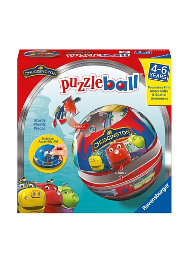 Ravensburger Chuggington Traintastic Crew 24-Piece Puzzleball