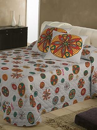 Colcha Bouti Circles (Multicolor)