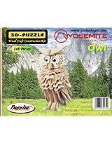 Yosemite Owl 3D Wood Puzzle 146 Pieces