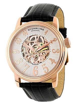 STÜRLING ORIGINAL 107A.334534 - Reloj de Caballero movimiento automático con correa de piel