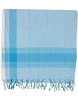 DHARA DESIGNS 1 Piece Face Towel - Light Blue