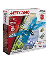 Meccano 6026714 3 Model Set Insects Building Kit