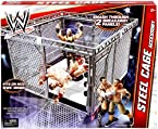 STEEL CAGE ACCESSORY (FITS MOST WWE RINGS) - WWE WRESTLING FIGURE RING & PLAYSET ACCESSORIES