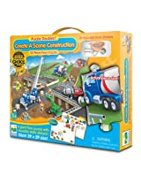 The Learning Journey Puzzle Doubles! Create A Scene Construction, Multi Color